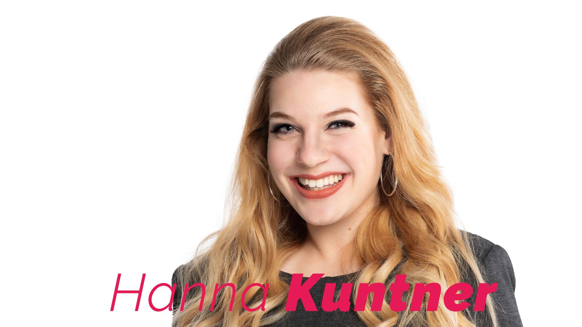 Hanna Kuntner - Sängerin